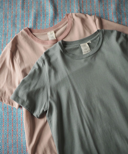 seya.#6 Essential T-shirt / Summer cotton jersey